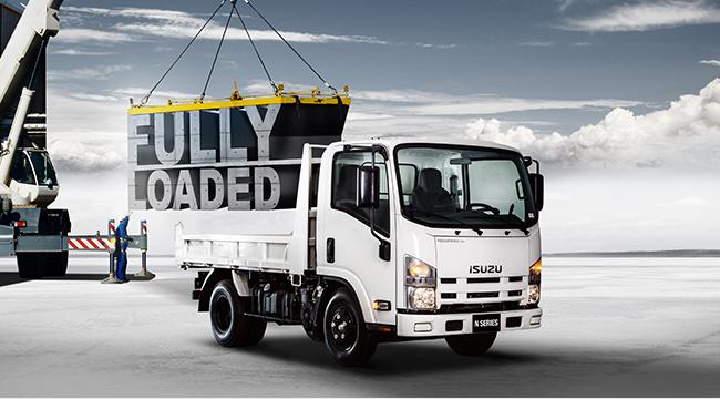Isuzu launches N Series trucks fully loaded